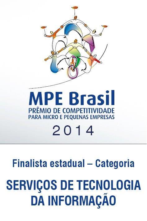 Selo MPE Brasil 2014 - Finalista - Serviços de TI