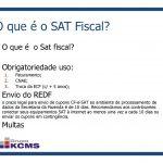 Dúvidas comuns referente ao SAT CF-e