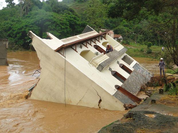 Enchente em Mariana-MG