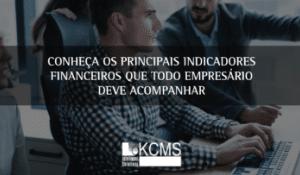 Principais indicadores financeiros
