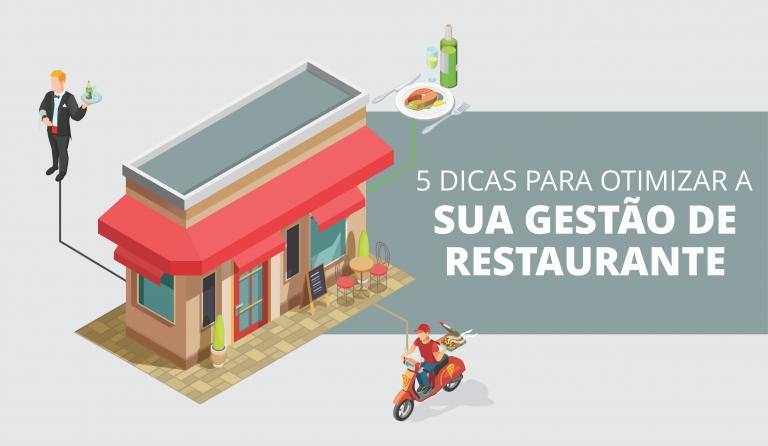 Dicas para otimizar a gestão de restaurante