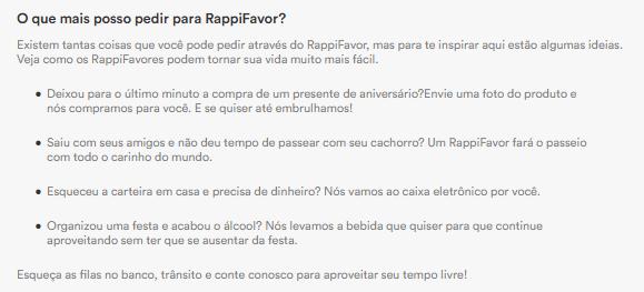 Como funciona o Rappi para qualquer coisa