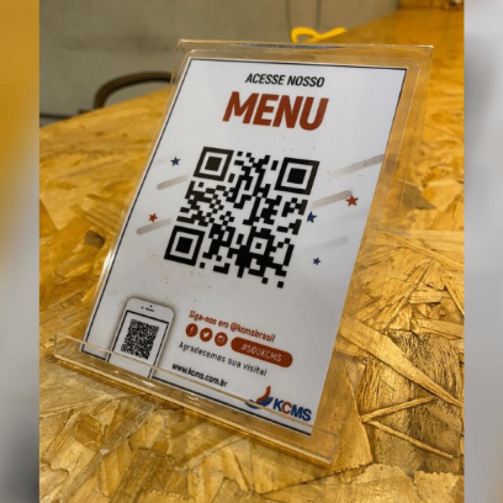 O QR Code está se torando o queridinho dos consumidores e clientes de softwares para restaurantes