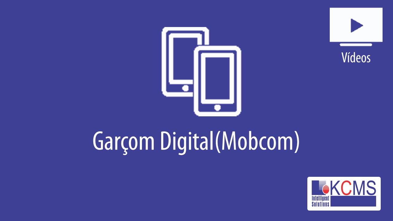 Garçom Digital - Mobcom