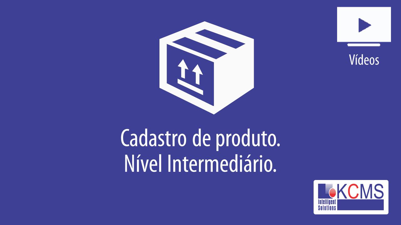 Cadastro de Produtos - Intermediário