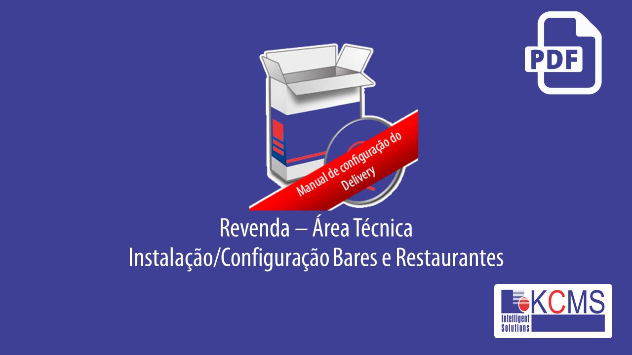 Revenda/Área Técnica - Instalações em Bares/Restaurantes.