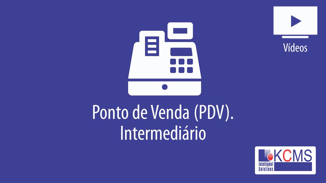 Operações PDV - Intermediário