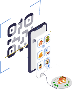 Cardápio digital QR Code mesa - passo 01